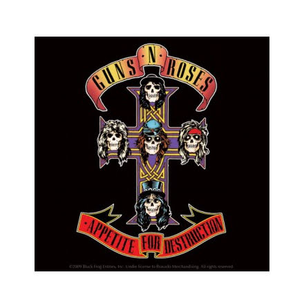 Guns N Roses - Single Coster Logo