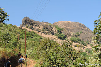 Photo: Final ascend towards Makrandgad....