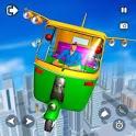 Flying Tuk Tuk Simulator icon