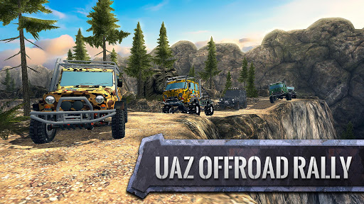 ud83dude97ud83cudfc1UAZ 4x4: Dirt Offroad Rally Racing Simulator android2mod screenshots 9