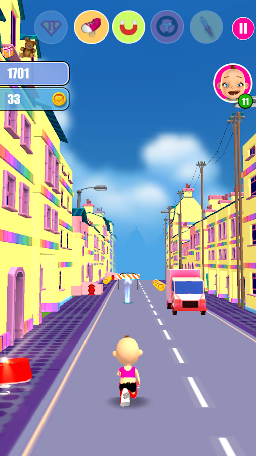 Baby Run The Babysitter Escape- screenshot