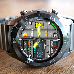 Monster Hybrid Watch Face For WatchMaker Users Screenshot