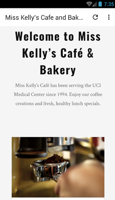 Miss Kelly's Cafe and Bakery- screenshot