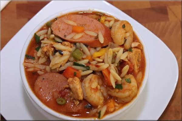 Jambalaya With A Orzo Twist Recipe
