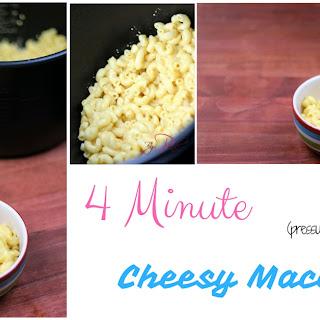 4 Minute Cheesy Macaroni