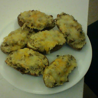 Twice Baked Potatoes with a Twist!.