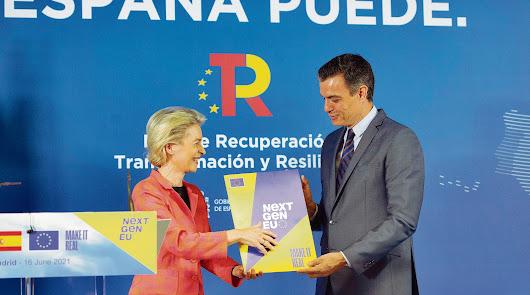 Un río de dinero prestado inundará España
