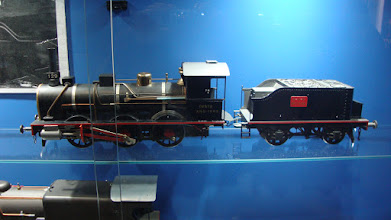 Photo: Locomotora artesanal.
