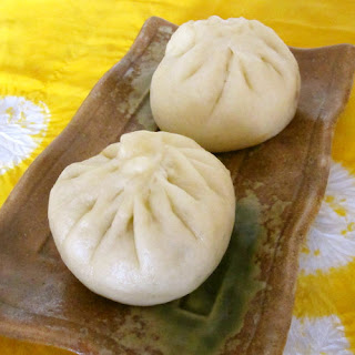 Carrot Filled Steamed Buns - A Dim Sum Item