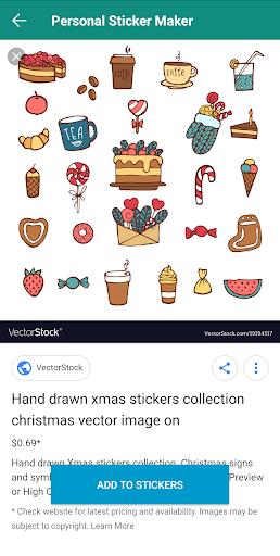 Personal Stickers screenshot 2