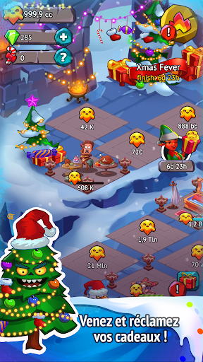 Code Triche Idle Evil Clicker: jeu de Noël  APK MOD (Astuce) screenshots 1