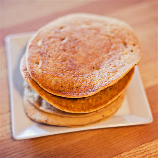 Lemon Poppy Chickpea Cornmeal Pancakes – Gluten-Free & Vegan!