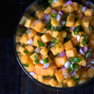 Cantaloupe Salsa.