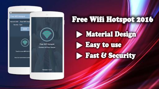 Free Wifi Hotspot from 3G,4G screenshot