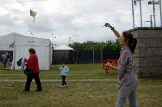 Photo: Mihoko consigue que vuela la suya