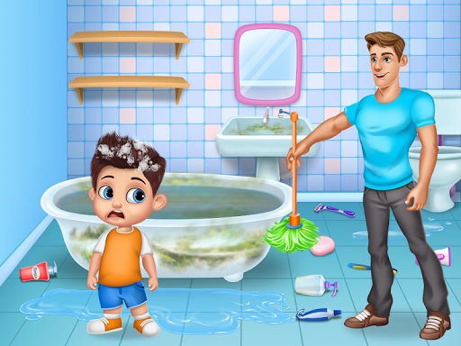 Daddyu2019s Helper Fun - Messy Room Cleanup screenshots 2