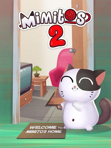 My Cat Mimitos 2 u2013 Virtual pet with Minigames apkpoly screenshots 12