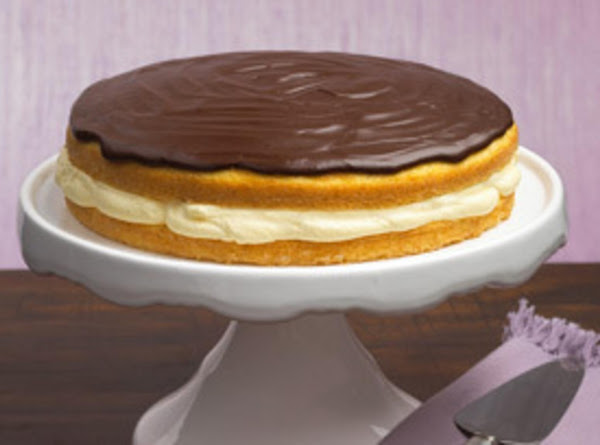 Quick & Easy Boston Cream Pie Recipe