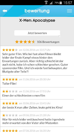 kinoradar - Kino, Filme & mehr 3.2.2 screenshots 4