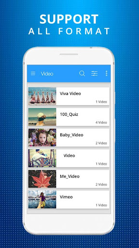 HD Video Player for Android 1.7 screenshots 3