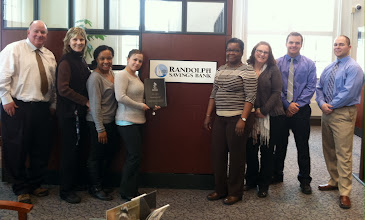 Photo: BBB presented Randolph Savings Bank with a 90 year Accreditation Achievement Award Plaque