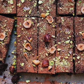 Sweet Potato Chocolate Brownies.