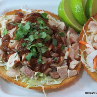 Low Carb Turkey Chalupa With Faux Mole Sauce.