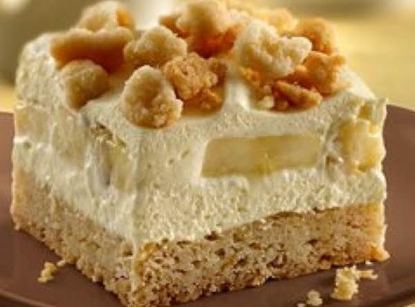 Banana Cream Squares Recipe