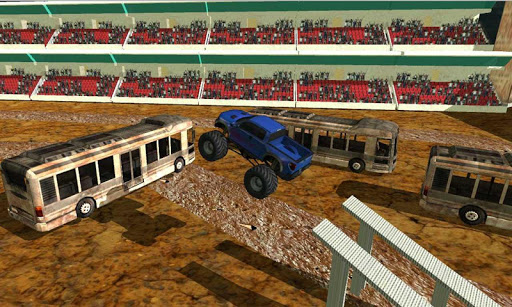 Monster Truck Stunt Rampage