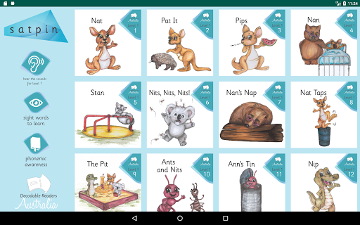 Decodable Readers S1  screenshots 1