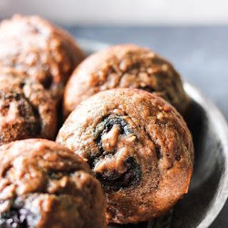 Banana Chocolate Muffins with Blueberries Recipe