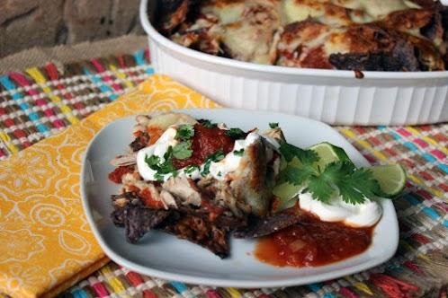Leftover Turkey Nachos