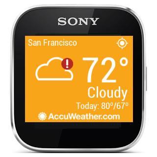 AccuWeather - Sony SmartWatch screenshot 5