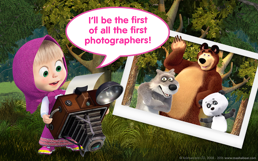 Masha and the Bear Child Games filehippodl screenshot 12