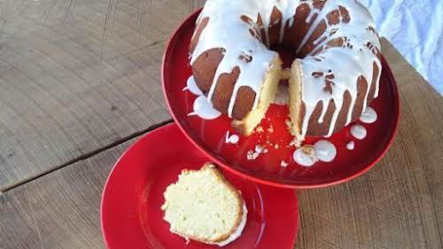 """Click Here for Recipe: Italian Pound Cake """"Made this cake yesterday. It..."""