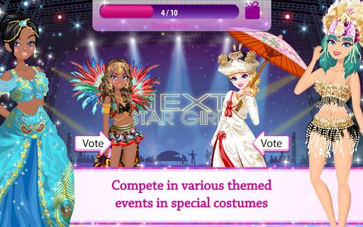 Star Girl - Fashion, Makeup & Dress Up screenshot 8