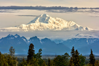 Photo: Mt. McKinley in all its glory