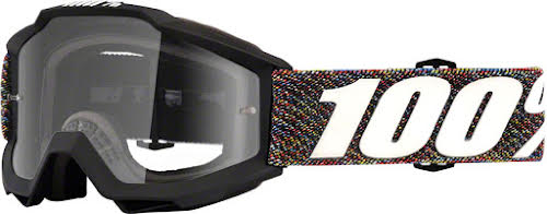 100% Accuri Youth Goggle: Krick with Clear Lens