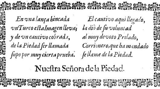 La imaginería almeriense del XVII según Orbaneja