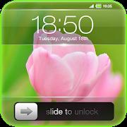 Slide to Unlock - Flower Theme  Icon