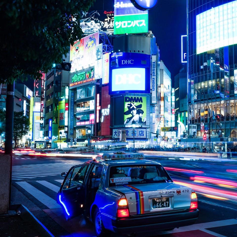 taxi au japon