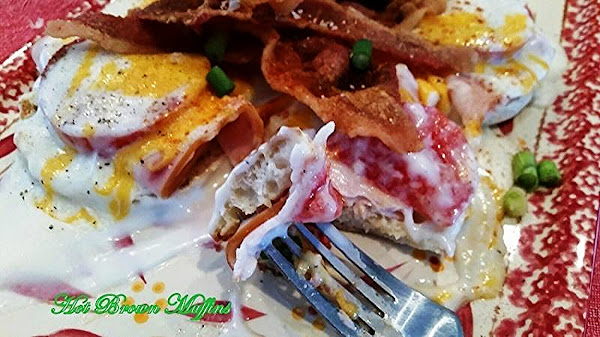 ~  Kentucky Hot Brown Muffins ~ My Rendition Recipe