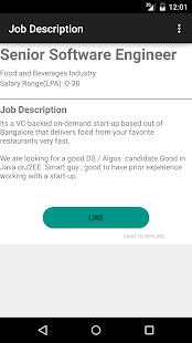 IT Jobs Notification- screenshot thumbnail