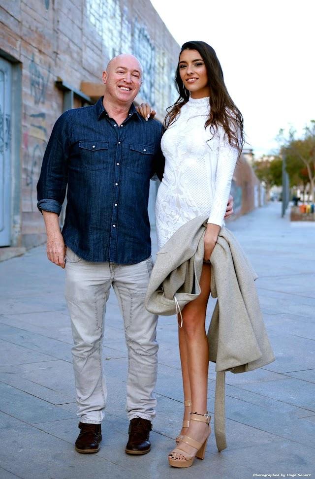 Paco Wandosell y la Miss World Almería 2020, Ana García Segundo.