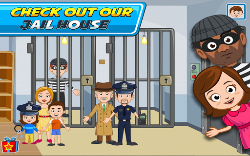 My Town : Police Station  screenshots 7