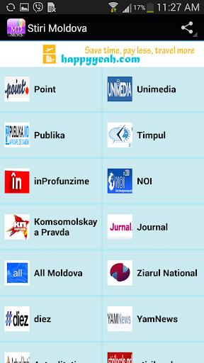 Stiri Moldova