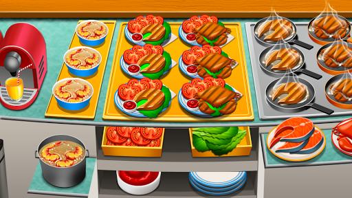 Code Triche Cooking World - jeux de cuisine restaurant chef APK Mod screenshots 1