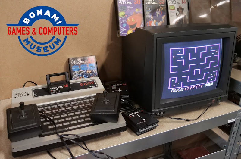 Bonami SpelComputer Museum opent Philips Videopac tentoonstelling