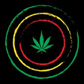 Weed Rasta Theme GO ADW APEX