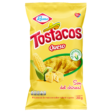 Pasabocas Ramo Tostacos   De Queso Familiar X 200g
